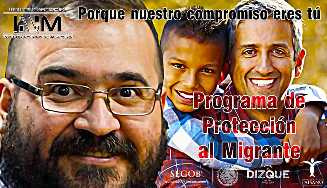 Javier Duarte saldrá libre gracias al Programa de Protección al Migrante 7