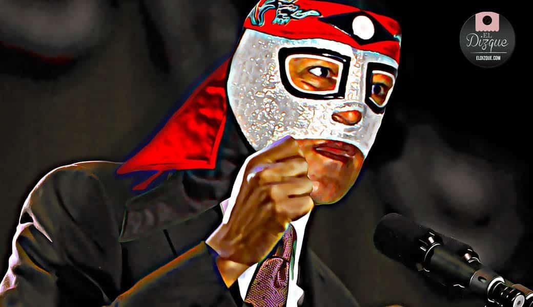 El luchador Octagón también se lanzará por la presidencia de la república 1