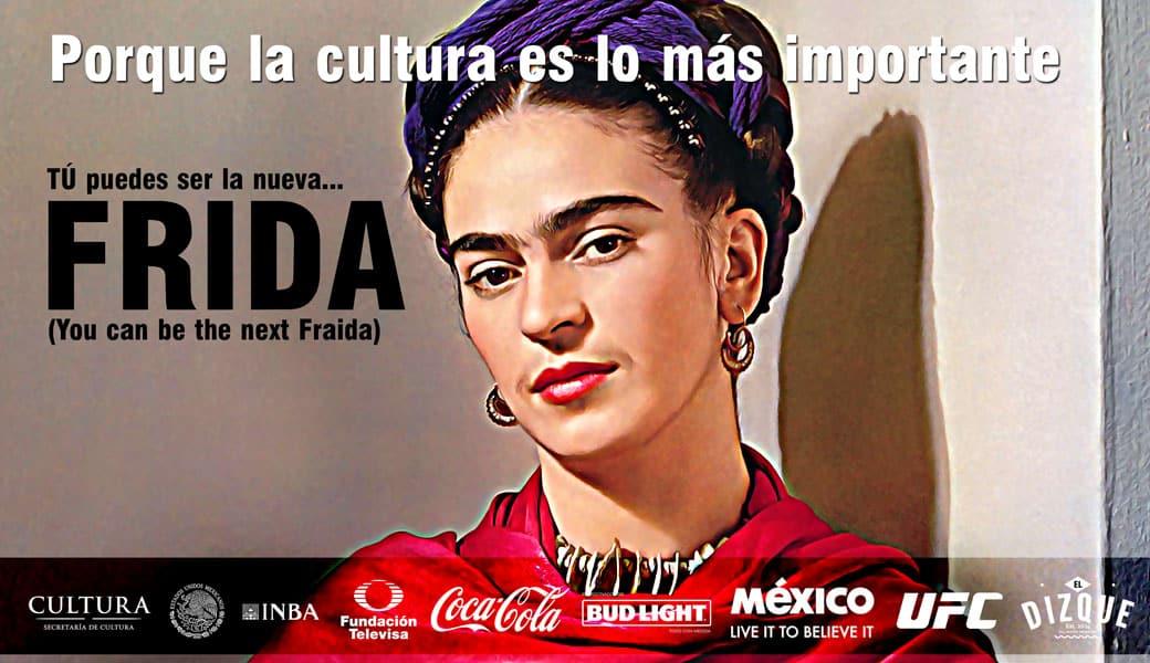 La Secretaría de Cultura lanza convocatoria para encontrar a la nueva Frida Kahlo 1