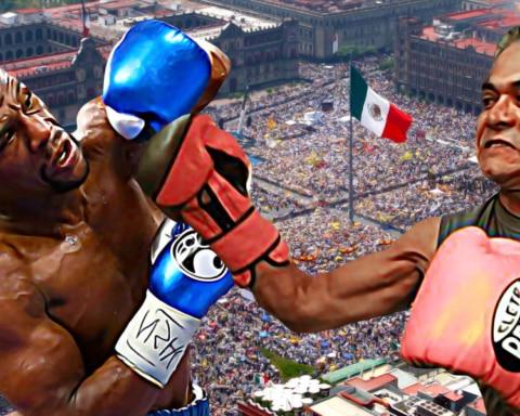 Miguel Ángel Mancera enfrentará a Floyd Mayweather en el Zócalo capitalino 3