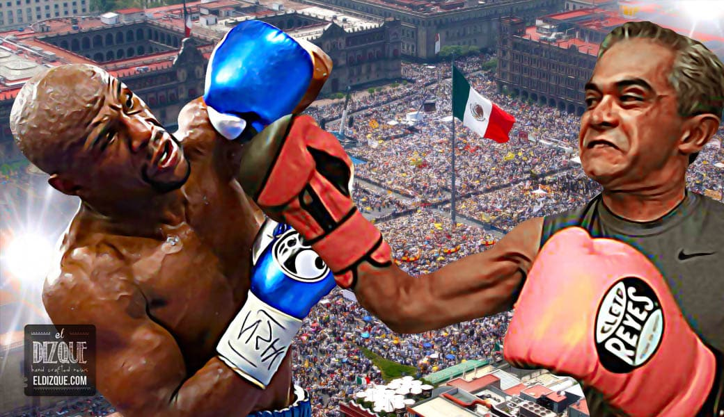 Miguel Ángel Mancera enfrentará a Floyd Mayweather en el Zócalo capitalino 2