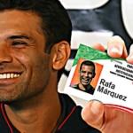 Rafa Márquez se afilia al PRI — Se esfuman todos los cargos en su contra 6
