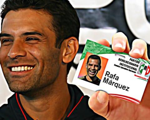 Rafa Márquez se afilia al PRI — Se esfuman todos los cargos en su contra 3