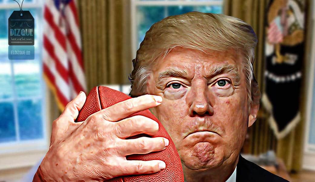Trump castigará a México: Cancelará todas las transmisiones de la NFL 1