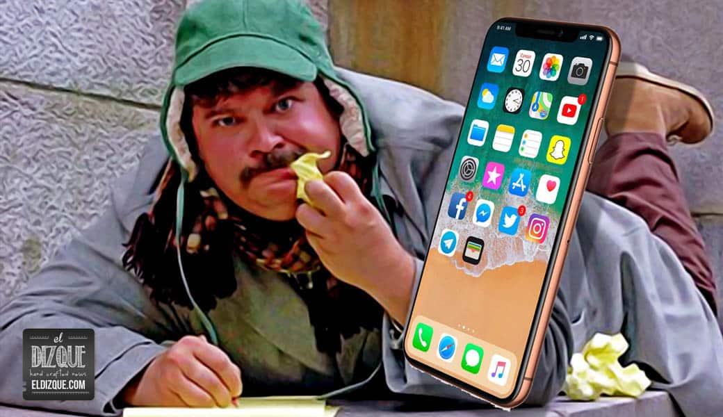Mexicano anuncia que contraerá matrimonio con un iPhone X 2