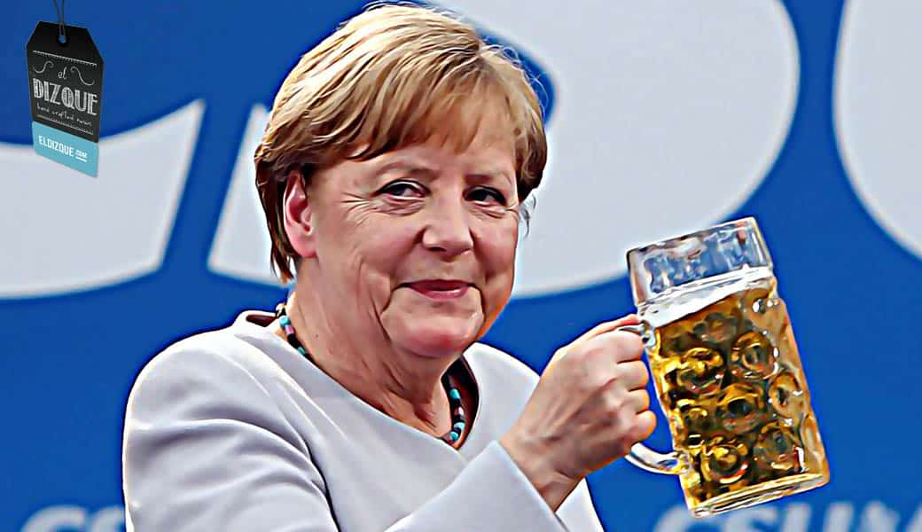 Angela Merkel propone la creación de un solo estado europeo. 1