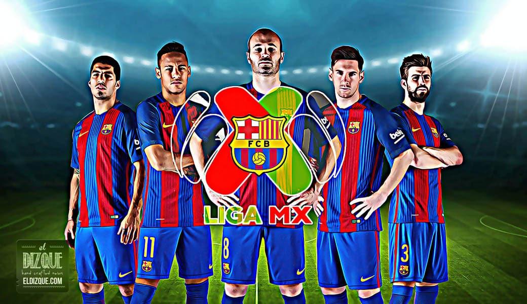 El Barcelona podría integrarse a la Liga MX el próximo año 1