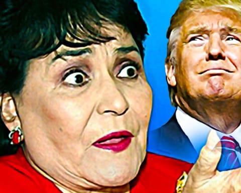 Carmen Salinas revela que rechazó los avances amorosos de Donald Trump 2