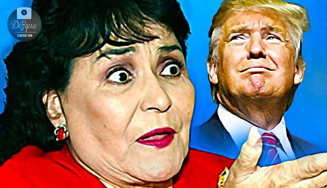 Carmen Salinas revela que rechazó los avances amorosos de Donald Trump 1