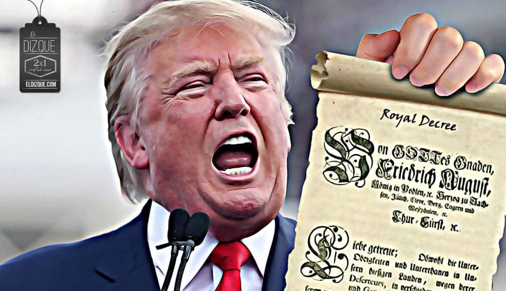 Nueva ley migratoria de Trump: Los estadounidenses no podrán salir de su estado de origen 1