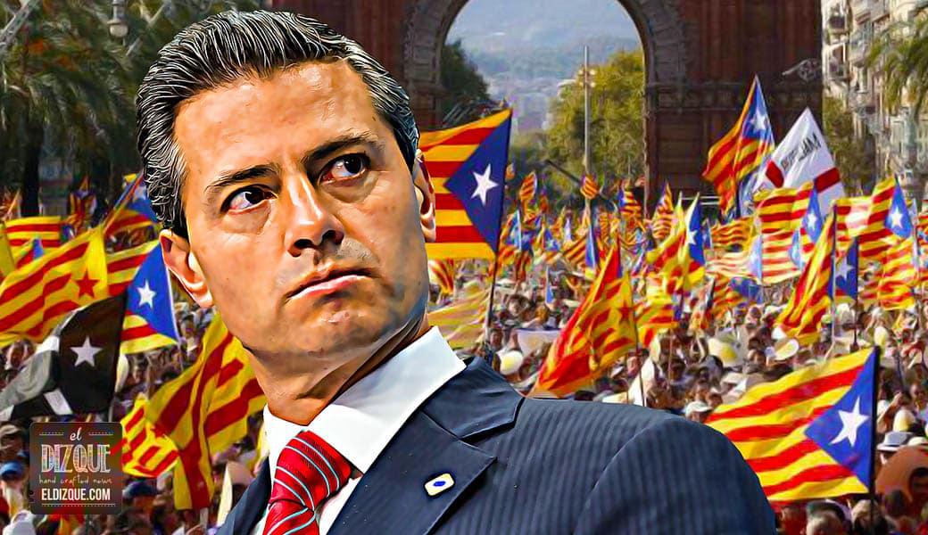 Peña Nieto se ofrece como mediador en el conflicto de Cataluña 1