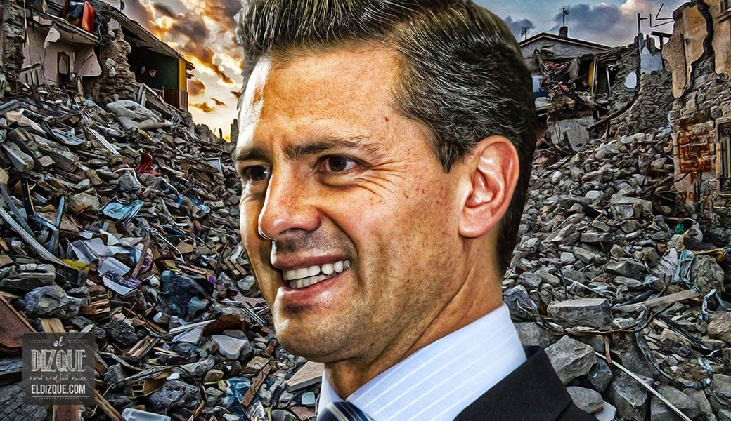 EPN explica por qué los damnificados del sismo deben pagar para la reconstrucción 13