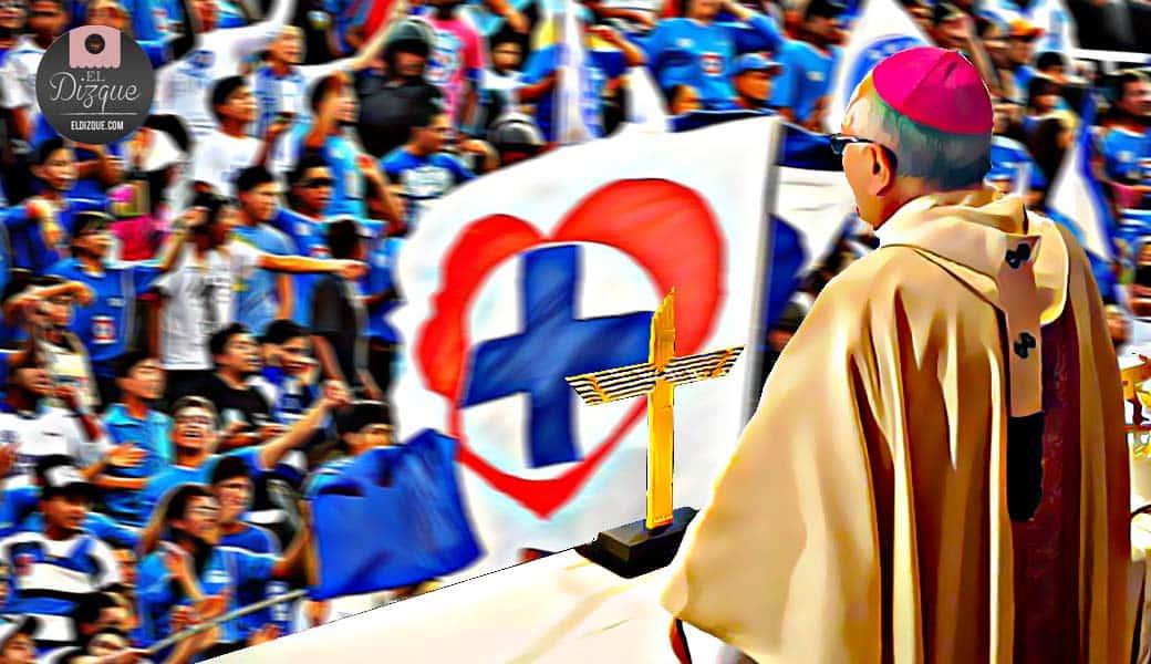 Celebrarán misa dedicada al Cruz Azul — Fans piden mejor exorcismo 1