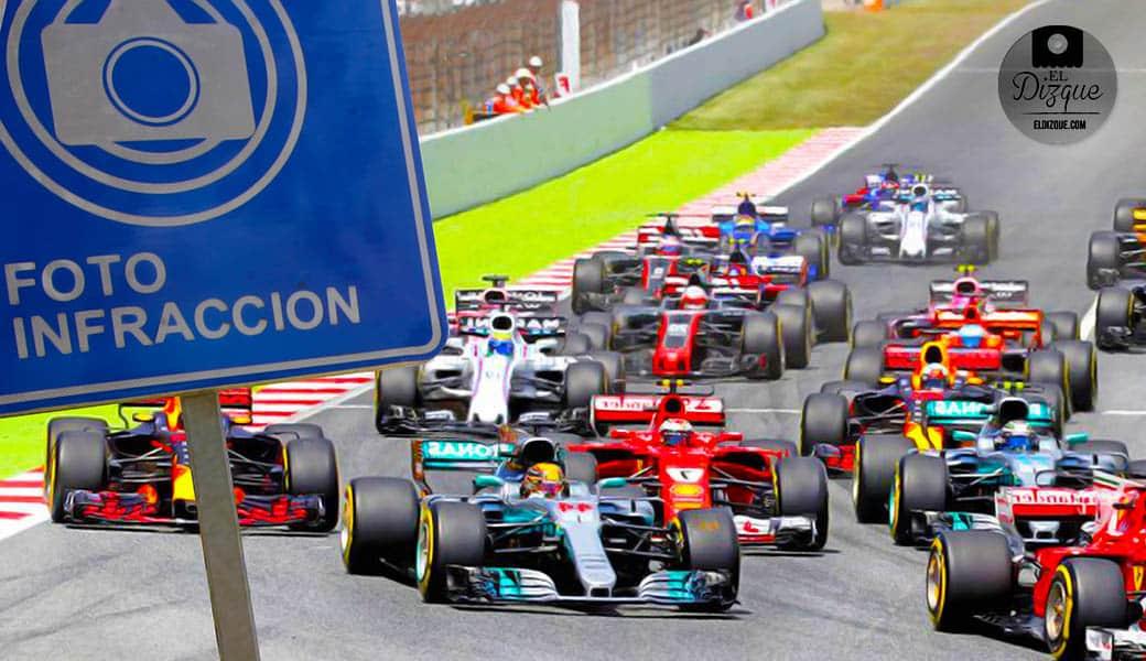Por fotomultas, la Fórmula 1 podría abandonar la Ciudad de México 1