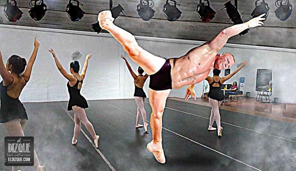 Brock Lesnar dejará la lucha para dedicarse al ballet clásico 4