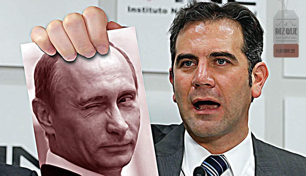 El INE pide la injerencia Rusa en las elecciones de 2018 5
