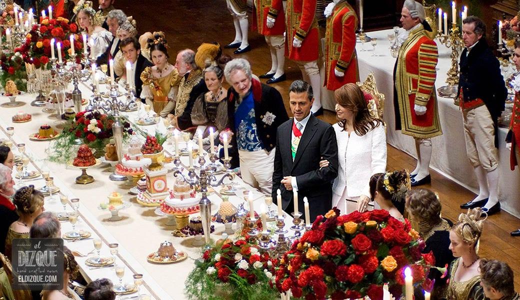 Causa indignación la cena de Año Nuevo de Enrique Peña Nieto 3