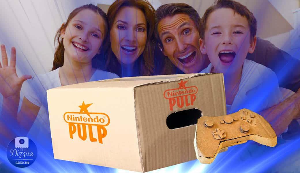 Nintendo lanzará la primer consola hecha completamente de cartón 1