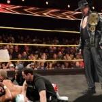 Undertaker captura el Campeonato NXT en las últimas grabaciones 3