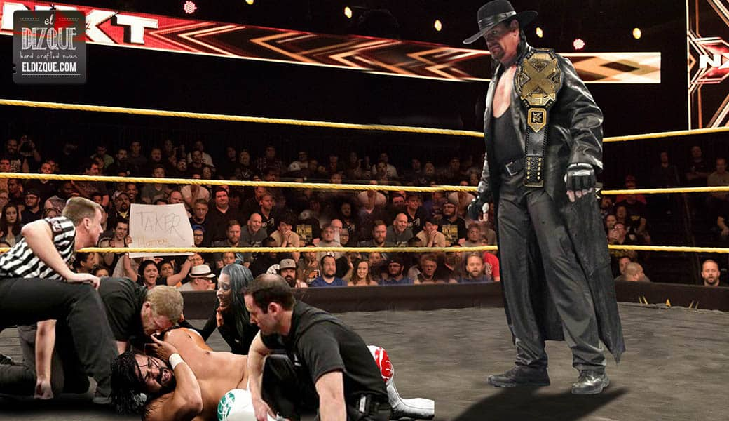 Undertaker captura el Campeonato NXT en las últimas grabaciones 7