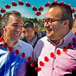 """""""Gracias al PRI se celebra en México el día de San Valentín"""": Meade 21"""