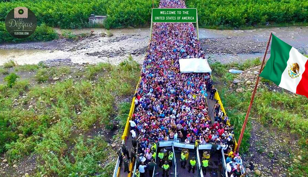 Miles de ciudadanos de Estados Unidos cruzan ilegalmente la frontera con México 1