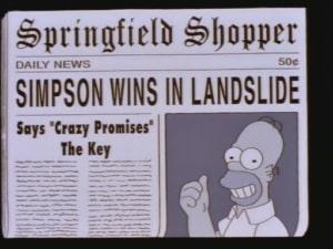 Los Simpson predicen la derrota de AMLO en las elecciones presidenciales 4