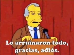 Los Simpson predicen la derrota de AMLO en las elecciones presidenciales 5