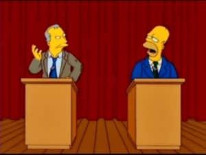 Los Simpson predicen la derrota de AMLO en las elecciones presidenciales 3