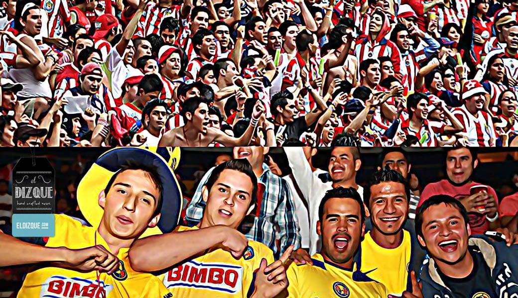 Según encuesta, los aficionados de las Chivas duplican en número a los del América 6