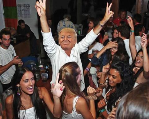 Se vuelve viral el video de Donald Trump bailando Scooby Doo Papá 3