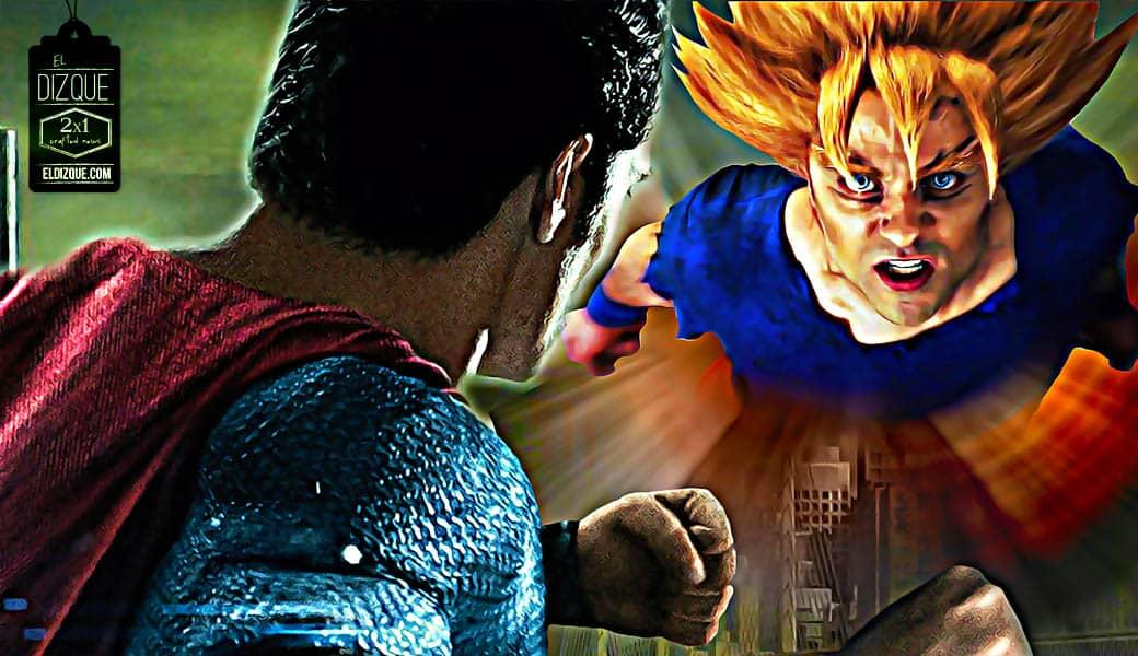 """Preparan ya la superproducción hollywoodense """"Supermán vs. Gokú"""" 4"""