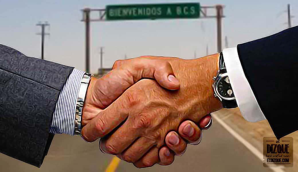 Baja California Norte y Baja California Sur firman un tratado de paz 7