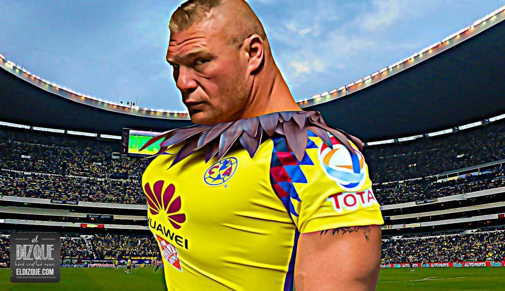 Ni WWE ni UFC: Brock Lesnar firmará con las Águilas del América 1
