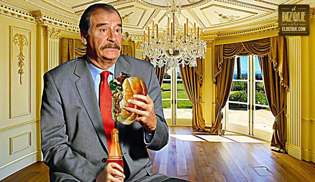 """Vicente Fox: """"Mi pensión presidencial apenas me alcanza para malcomer"""" 1"""