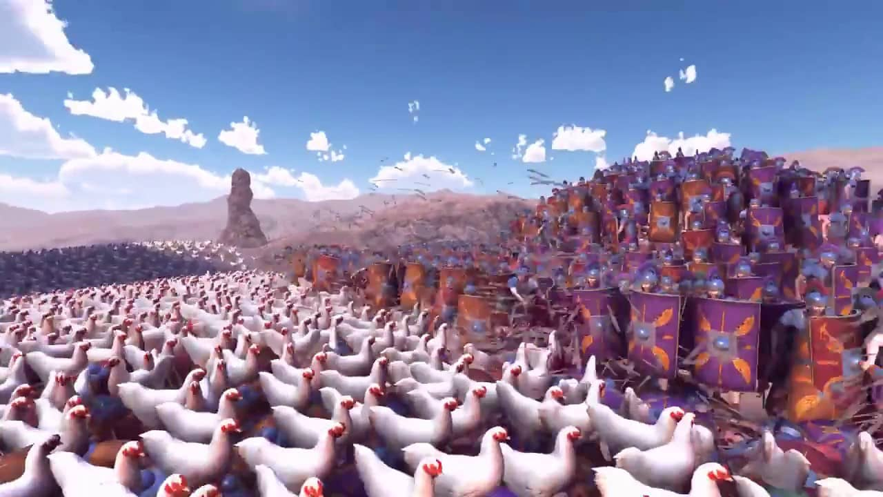 Advierten sobre el peligro de una rebelión de pollos 2