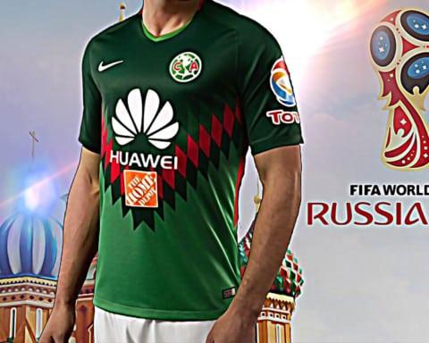 La camiseta verde del América será la oficial de la Selección Mexicana en Rusia 4
