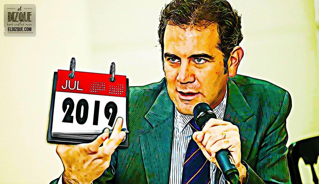Propone el INE mover las elecciones presidenciales a julio de 2019 1