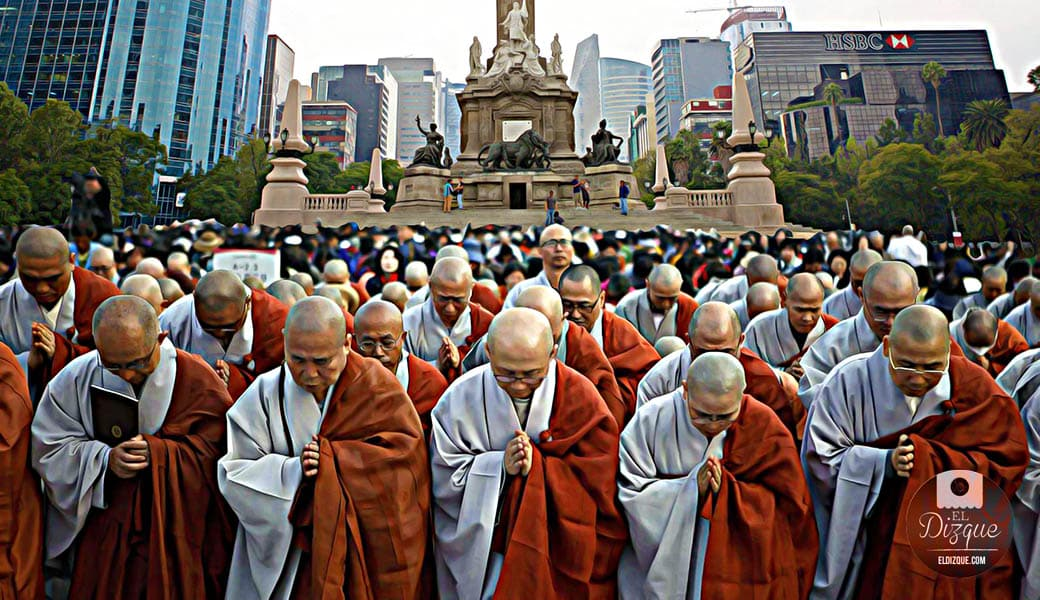 Conversiones masivas al budismo tras la calificación de México en Rusia 2018 1