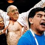 Maradona y el papa Francisco se fueron de parranda tras el partido de Argentina 5