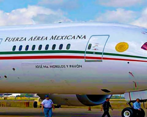 El avión presidencial tiene reporte de robo — Podría incautarlo la policía mexiquense 1