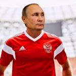 Vladimir Putin jugará contra Croacia en la selección rusa 7