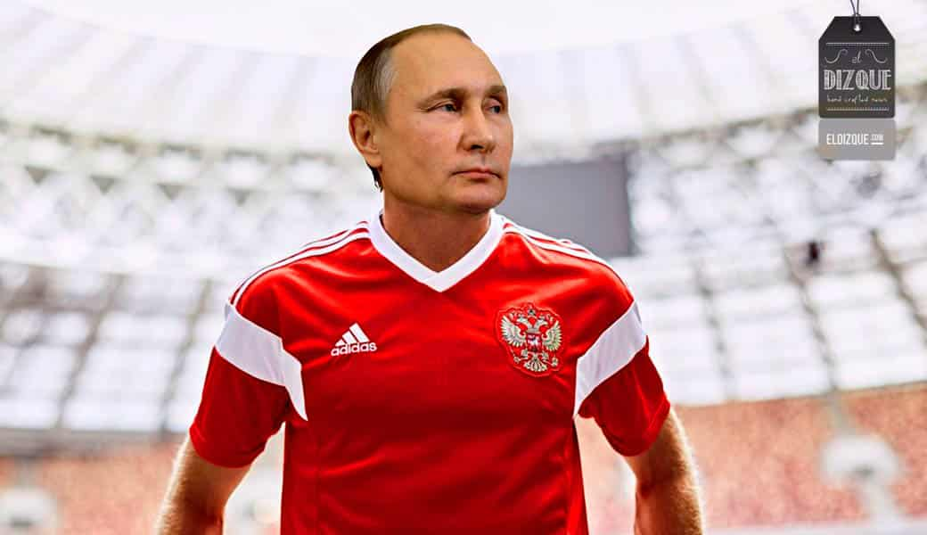 Vladimir Putin jugará contra Croacia en la selección rusa 1