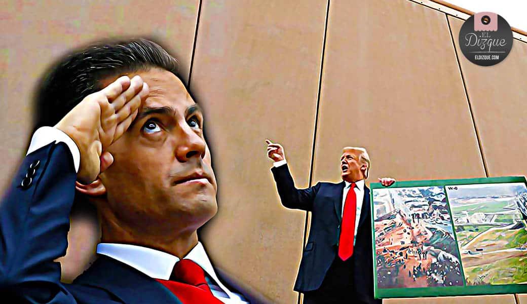 Tras renegociar el TLC, México tendrá que pagar el muro con Estados Unidos 1
