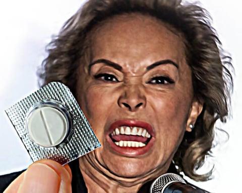 Elba Esther Gordillo confirma que el paracetamol lo cura todo 1