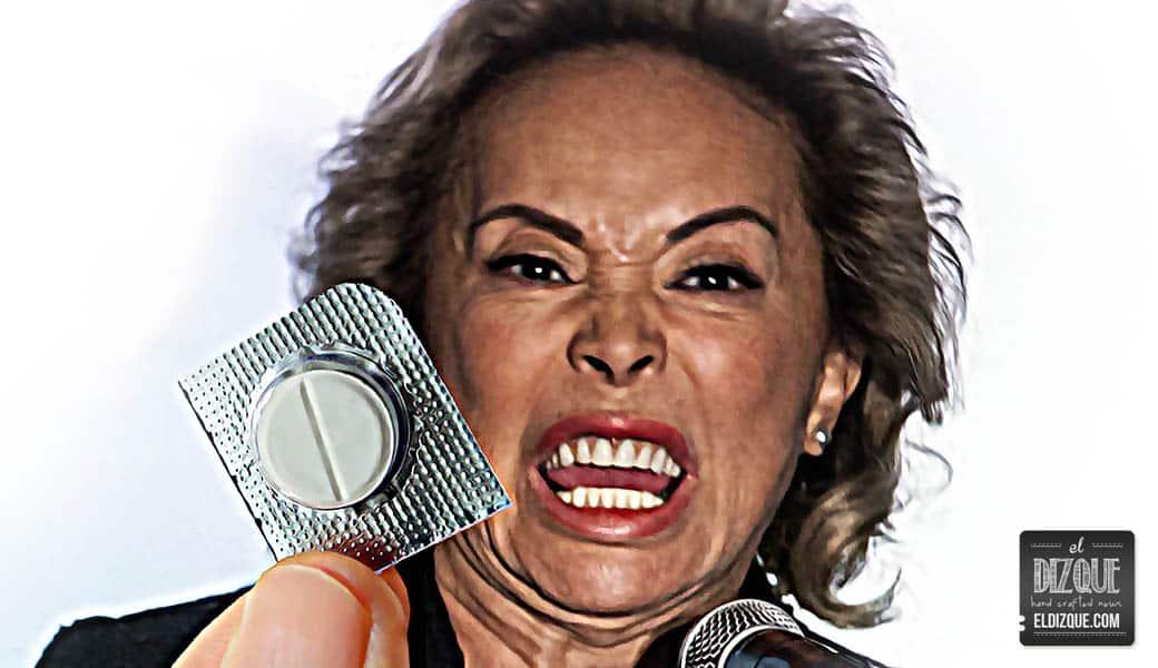 Elba Esther Gordillo confirma que el paracetamol lo cura todo 3
