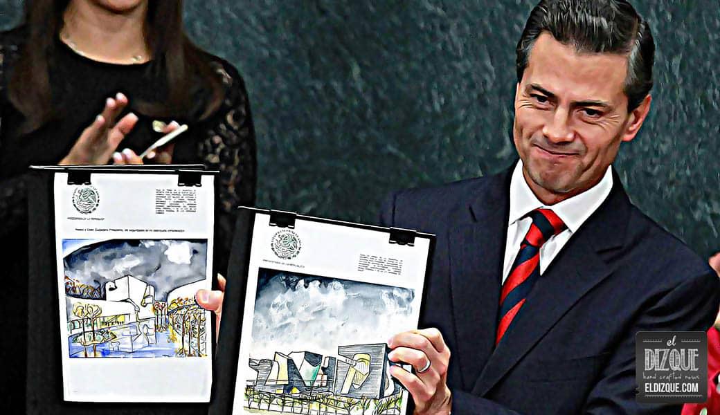 Peña Nieto anuncia privatización de Los Pinos antes de diciembre 1