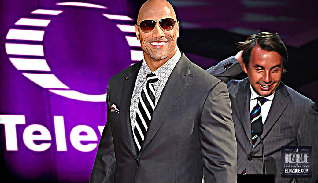"""Dwayne """"The Rock"""" Johnson protagonizará una telenovela de Televisa 5"""