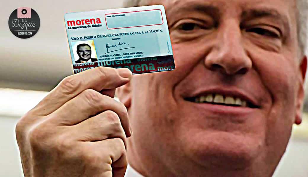 A partir del próximo año, la identificación oficial será la credencial de Morena 1