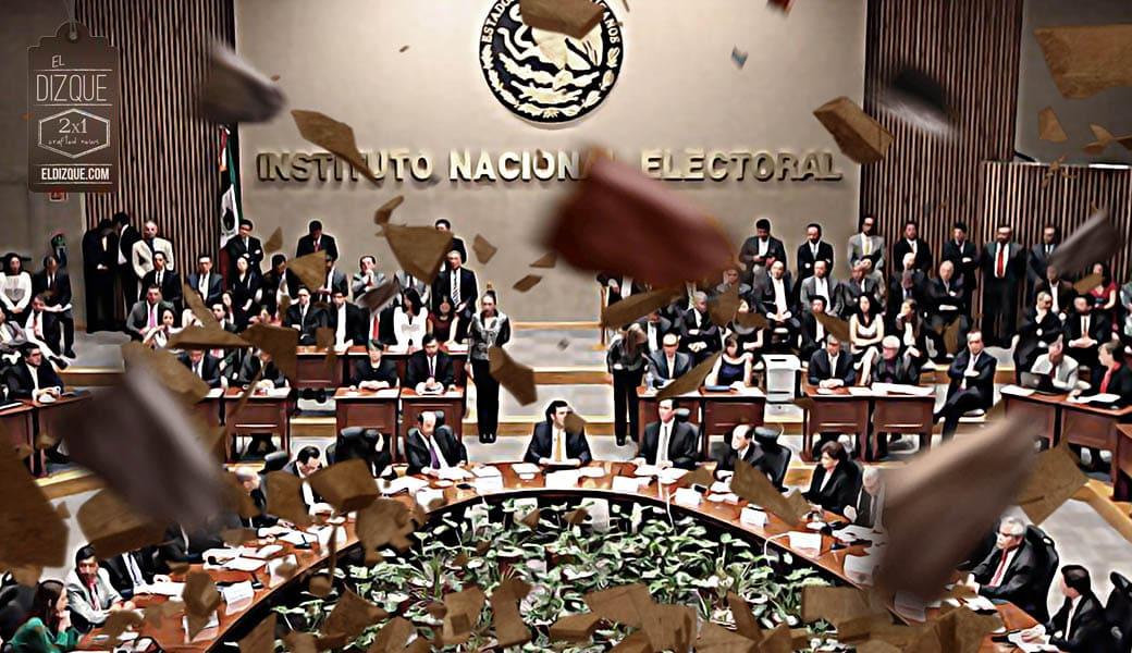 López Obrador anuncia la inminente desaparición del INE a partir de diciembre 1